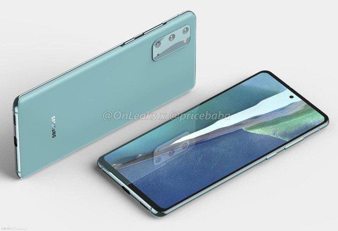 Samsung Galaxy S20 FE (Lite) smartphone