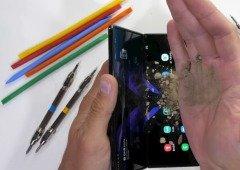 Galaxy Z Fold 2: teste de resistência mostra melhorias no smartphone dobrável