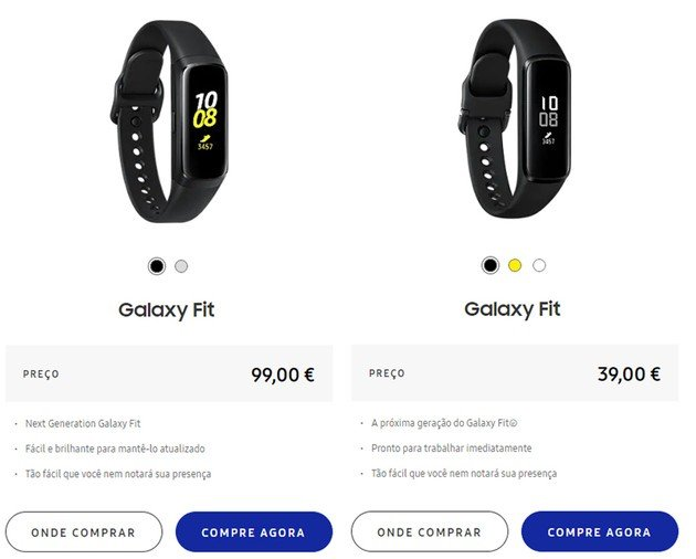 Samsung Galaxy Fit europa