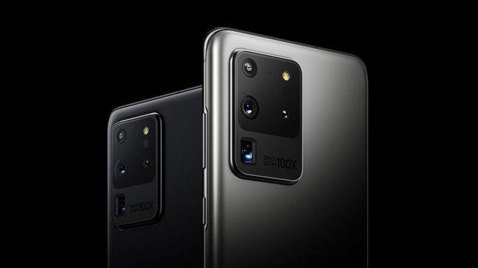 Samsung Galaxy S20 atualização