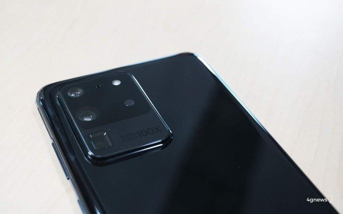 Samsung Galaxy S20 Ultra câmaras