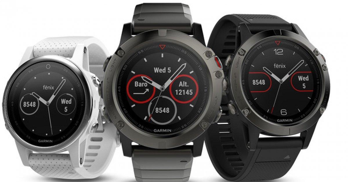 ed37c2448d4 Garmin Fenix 5  O relógio inteligente com bateria para 2 semanas - 4gnews