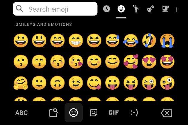 Gboard Beta Emoji