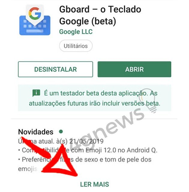 Google Gboard beta