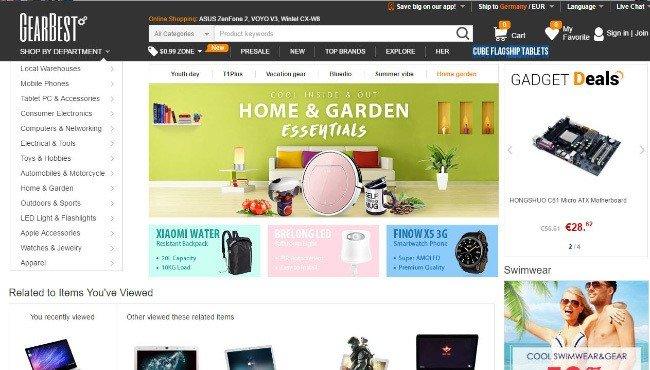 Gearbest compras online