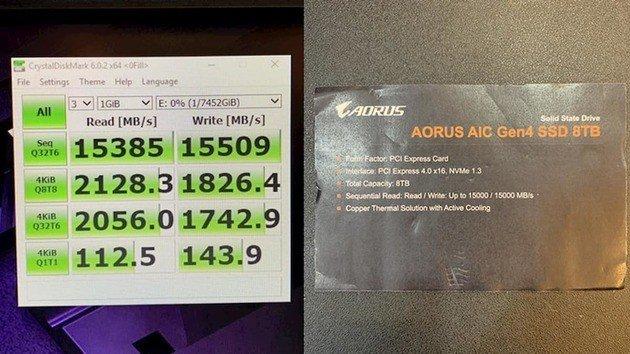 gigabyte ssd pcie 4.0
