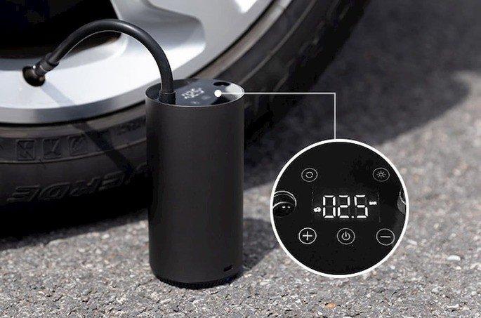 Xiaomi MOJIETU Lightning-A Smart & Portable Tire Inflator