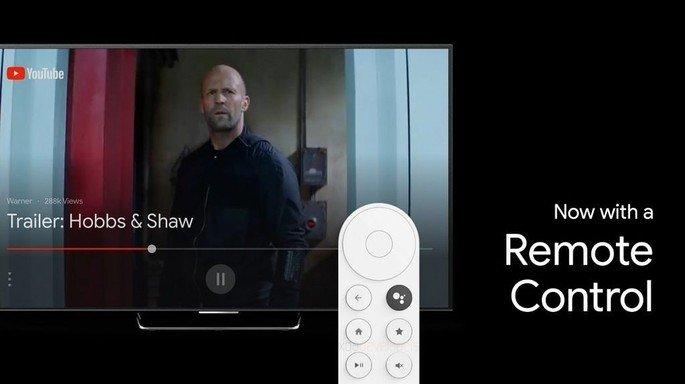 Chromecast comando