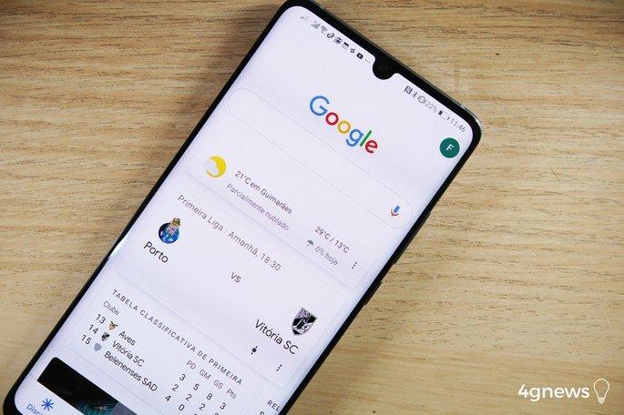Aplicação Google discovery
