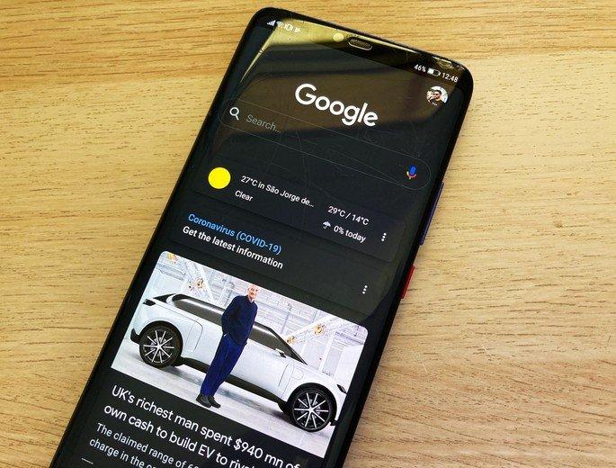 Aplicação Google