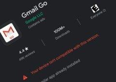 Google arrepende-se e Gmail Go deixa de ser compatível com outros smartphones Android!