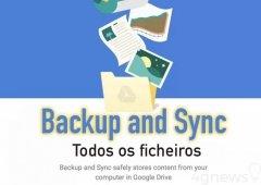Google Backup and Sync - Todos os teus ficheiros estarão agora na Drive