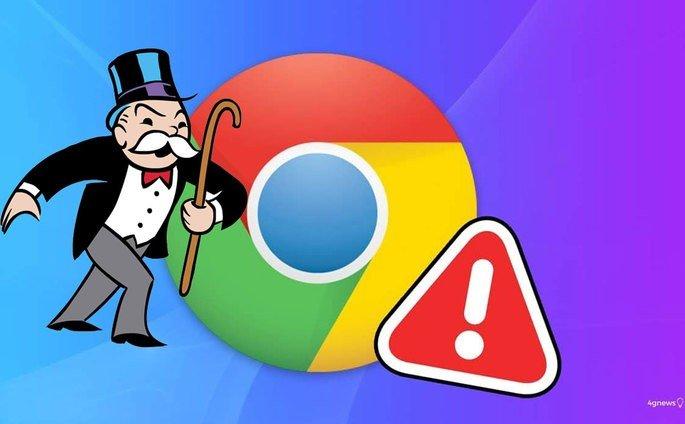Google Chrome monopólio