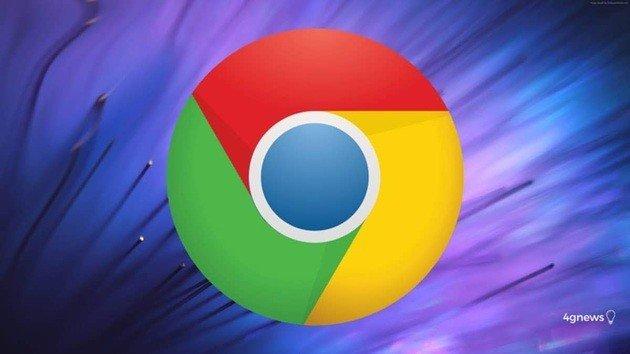 Google Chrome ativar gestos
