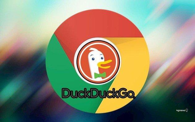 Google Chrome duckduckgo