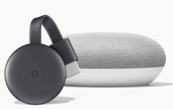 Google Chromecast e Google Home Mini Stream Transfer´