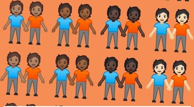 emojis google género neutro