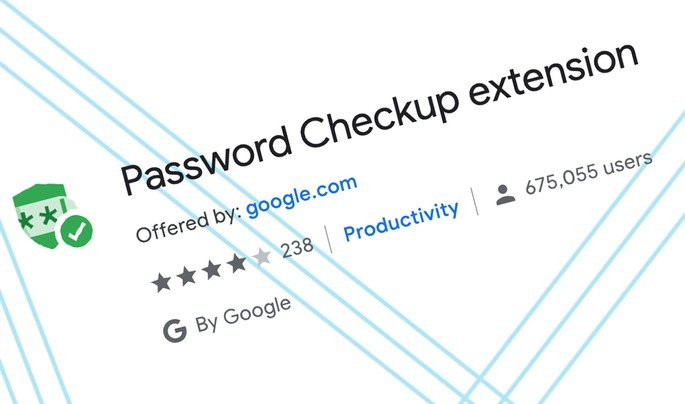 Google Password extensão