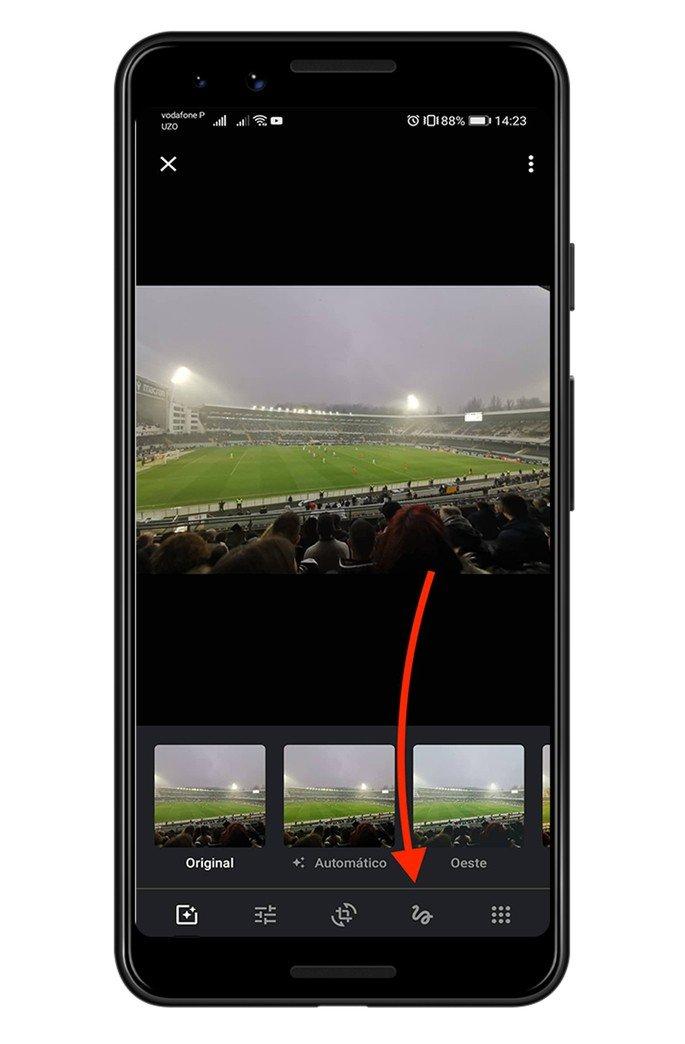 Google Fotos adicionar texto