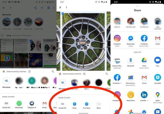 Google Fotos novo design