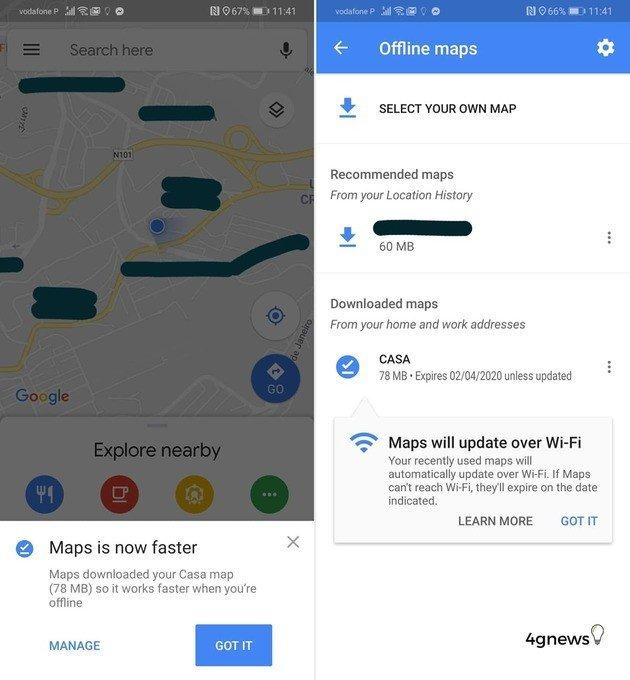 Google Maps nova atualização