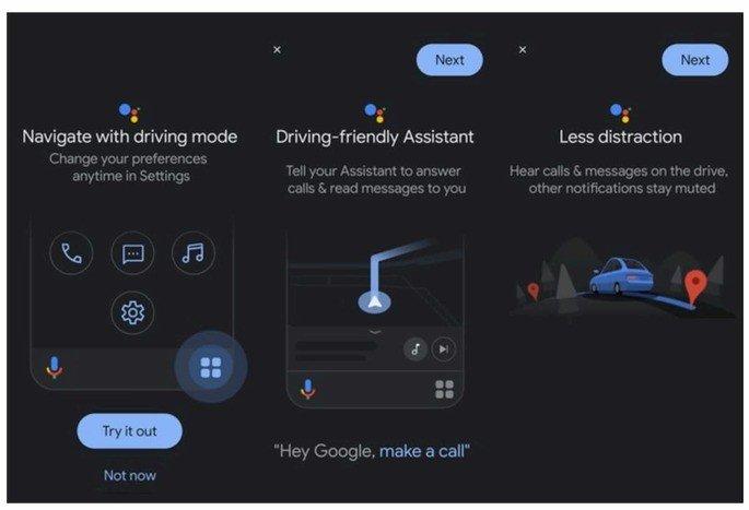 Novo Google assistant com Google Maps