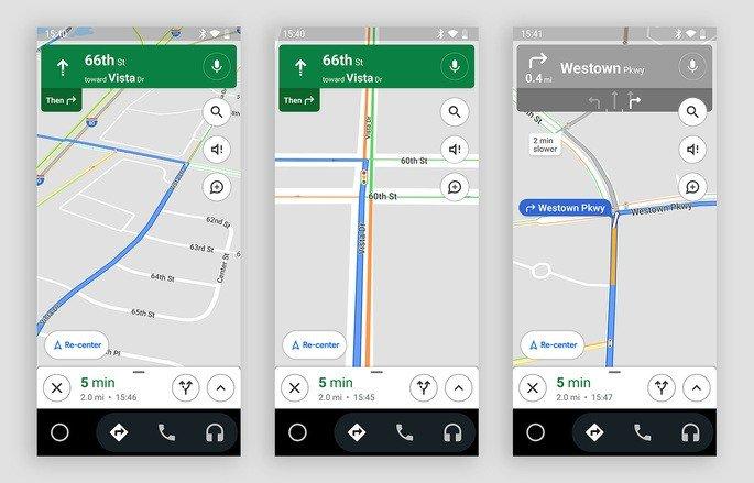 Google Maps testa mostragem de semáforos nas ruas. Crédito: Droid-Life