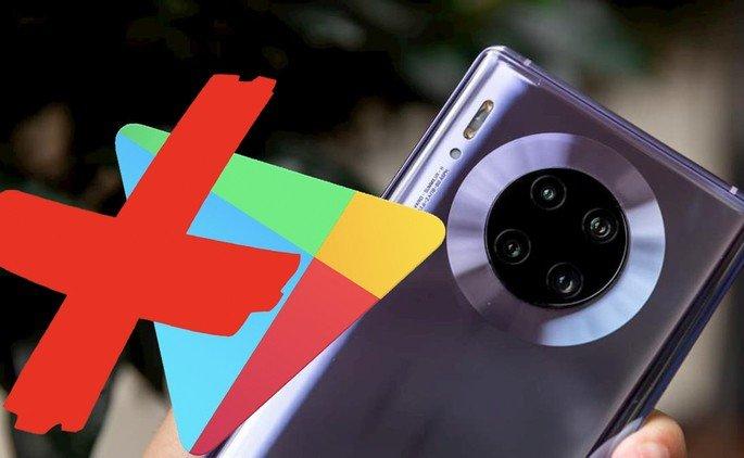 Google Play Store serviços Google Huawei