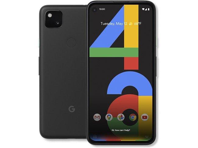 Telemóvel Google Pixel 4a em preto
