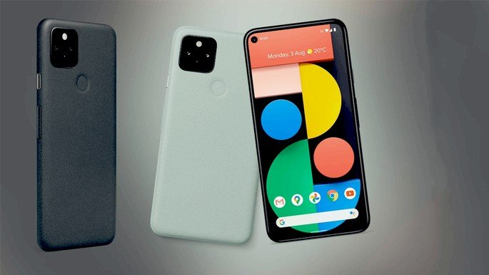 Google Pixel 5 Pixel 4a 5G