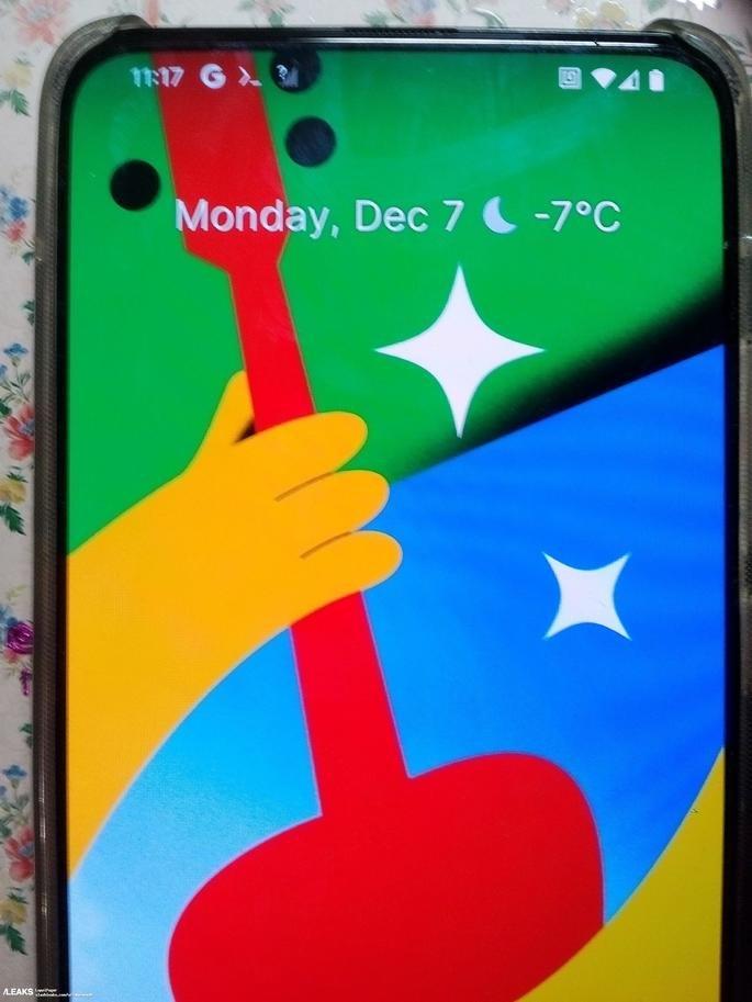 Imagem do alegado Google Pixel 5 Pro