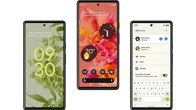 Google Pixel 6 Android 12