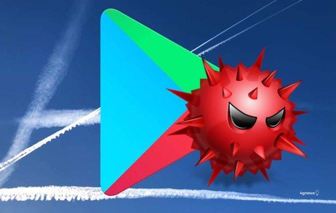 Google Play Store Apps localixação malware