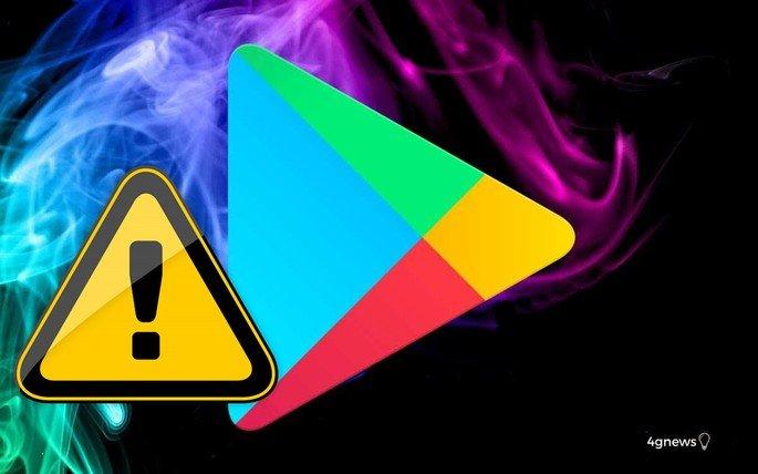 Google Play Store aplicações a remover