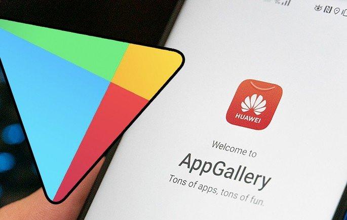 Huawei App Gallery Google Play Store