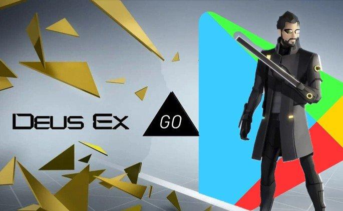Google Play Store jogo Deus Ex Go
