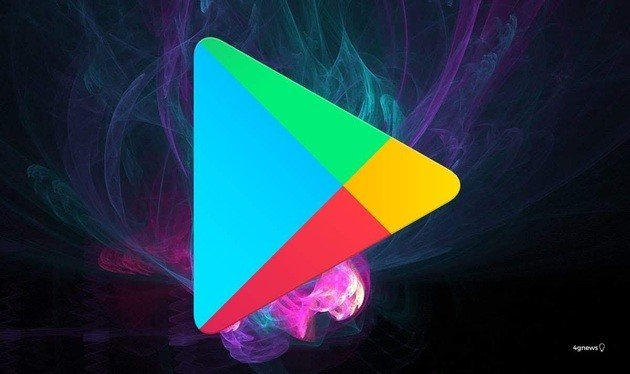 Novo design Material Design na Google Play Store