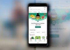 Google Play Store recebe nova secção para crianças! Só Apps aprovadas por professores