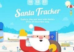 Google Santa Tracker - acompanha a viagem do Pai Natal com esta App!
