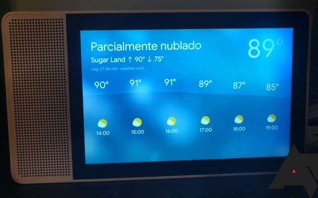 Google Assistant Português Brasil Smart Display