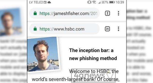 Google Chrome Atenção