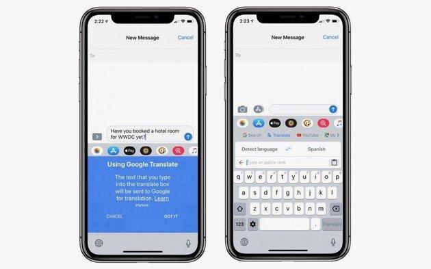 Google Gboard para iOS recebe finalmente funcionalidade