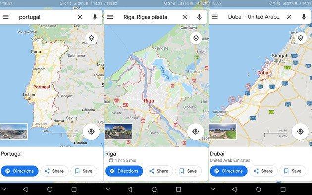 Google Maps Fronteiras