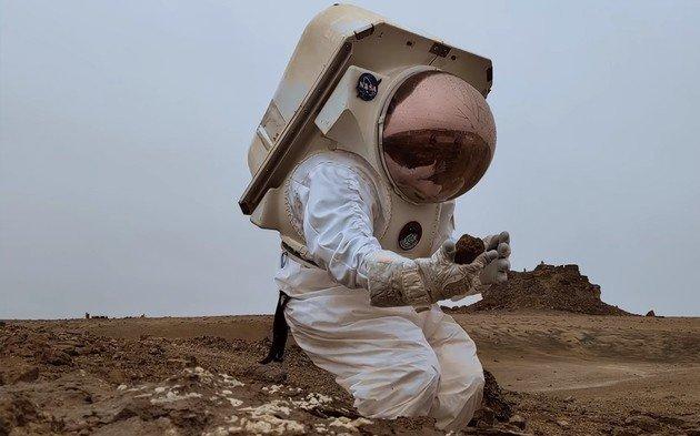 Google Street View Marte