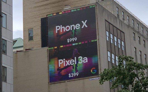 Google Pixel 3a Phone X