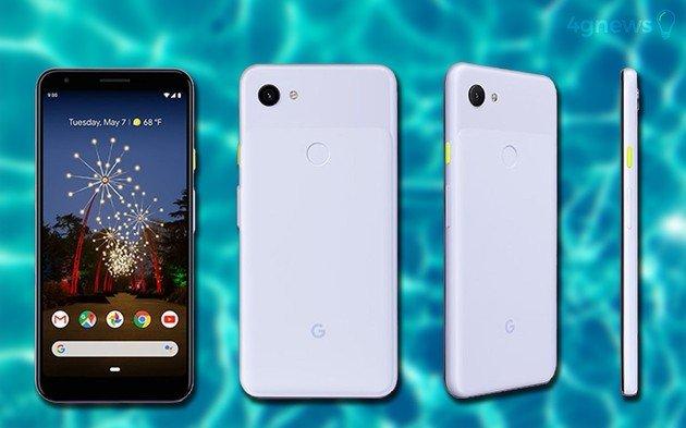 Google Pixel 3a XL design