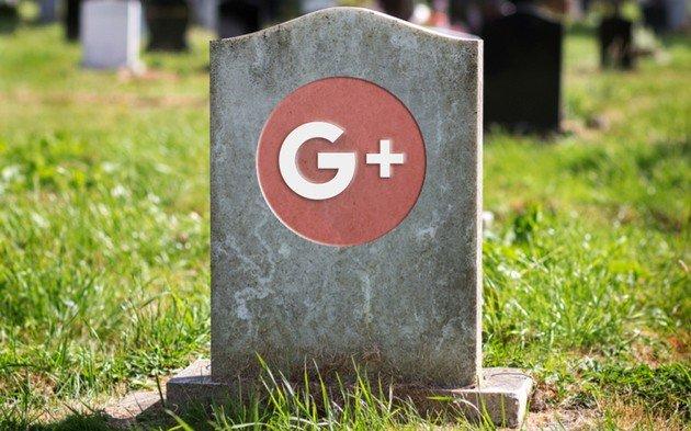 Google Plus cemitério