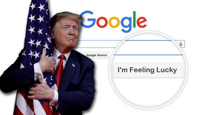 Google Publicidade Donald Trump