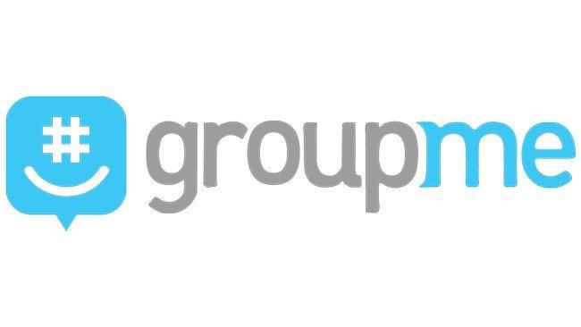Logótipo GroupMe fundo branco