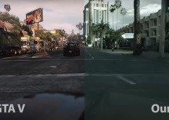 GTA V fica mais realista graças à inteligência artificial (vídeo)